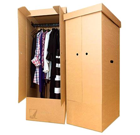 Как сделать коробки в шкаф